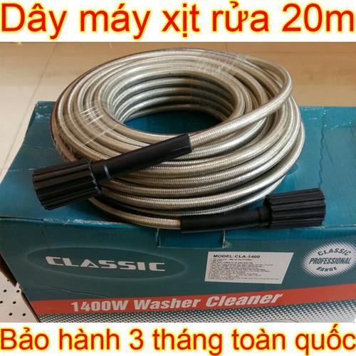 Cuộn dây máy rửa xe mini gia đình dài 20 mét - Phụ kiện máy bơm nước áp lực cao xịt rửa - 11687859 , 18985490 , 15_18985490 , 380000 , Cuon-day-may-rua-xe-mini-gia-dinh-dai-20-met-Phu-kien-may-bom-nuoc-ap-luc-cao-xit-rua-15_18985490 , sendo.vn , Cuộn dây máy rửa xe mini gia đình dài 20 mét - Phụ kiện máy bơm nước áp lực cao xịt rửa