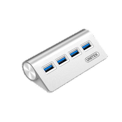 Bộ chia USB 3.0 4port cao cấp bằng nhôm Unitek