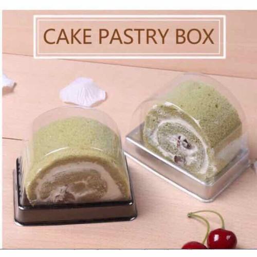 Set 10 hộp đựng bánh cuộn cắt miếng