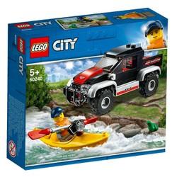 Bộ lắp ráp Chuyến Phiêu Lưu Cùng Thuyền Kayak - LEGO City 60240