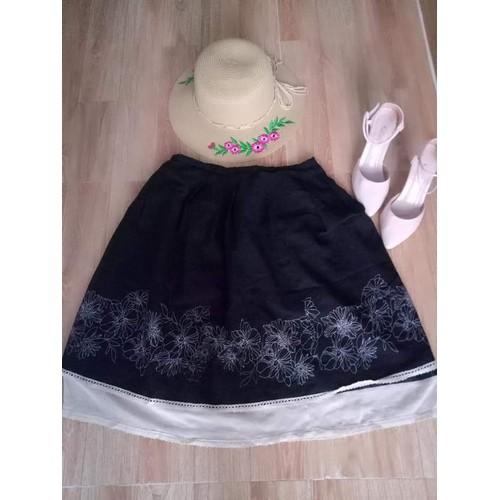 Tặng son xịn khi mua Váy xòe in họa tiết siêu xinh
