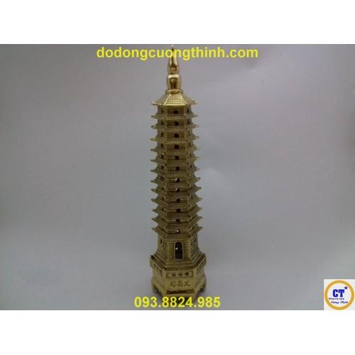 Tháp văn xương 13 tầng vàng 30cm - 8998518 , 18650939 , 15_18650939 , 786000 , Thap-van-xuong-13-tang-vang-30cm-15_18650939 , sendo.vn , Tháp văn xương 13 tầng vàng 30cm