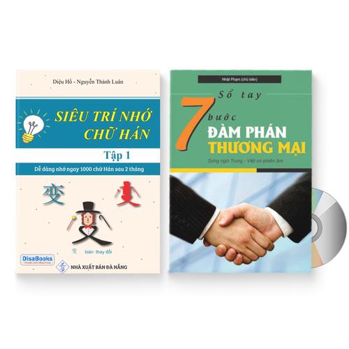 Combo 2 sách: Siêu trí nhớ chữ Hán tập 01 + Sổ tay 7 bước đàm phán thương mại + DVD quà tặng – SIEUNHO017BUOC - 5001137 , 18653183 , 15_18653183 , 259000 , Combo-2-sach-Sieu-tri-nho-chu-Han-tap-01-So-tay-7-buoc-dam-phan-thuong-mai-DVD-qua-tang-SIEUNHO017BUOC-15_18653183 , sendo.vn , Combo 2 sách: Siêu trí nhớ chữ Hán tập 01 + Sổ tay 7 bước đàm phán thương mại + DVD