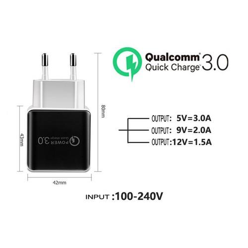 Cốc Sạc Củ sạc Nhanh Quick Charge 3.0 Qualcomm 3.0 cho Iphone Samsung Oppo Huawei Xiaomi Vivo Redmi Baỏ Hành 12 Tháng - 8996463 , 18647074 , 15_18647074 , 40000 , Coc-Sac-Cu-sac-Nhanh-Quick-Charge-3.0-Qualcomm-3.0-cho-Iphone-Samsung-Oppo-Huawei-Xiaomi-Vivo-Redmi-Bao-Hanh-12-Thang-15_18647074 , sendo.vn , Cốc Sạc Củ sạc Nhanh Quick Charge 3.0 Qualcomm 3.0 cho Iphone Sa