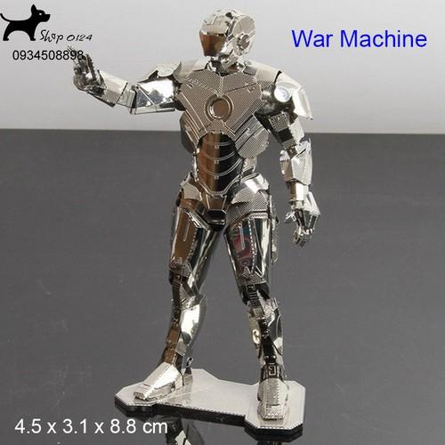 Mô hình thép 3D tự lắp War machine