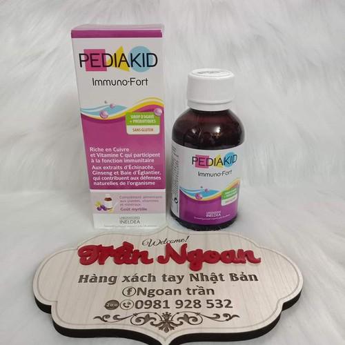 Pediakid Immuno-Fort nhập khẩu chính hãng chai125ml