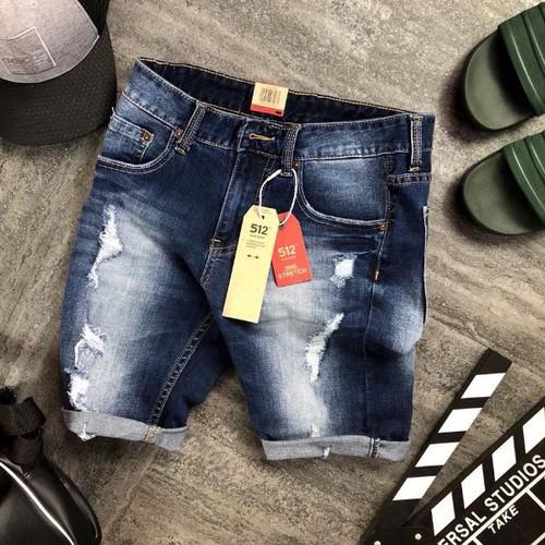 Quần short jeans nam kiểu rách - 8998299 , 18650696 , 15_18650696 , 135000 , Quan-short-jeans-nam-kieu-rach-15_18650696 , sendo.vn , Quần short jeans nam kiểu rách