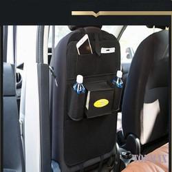Túi đựng đồ treo sau ghế xe ô tô, xe hơi vải dạ siều bền