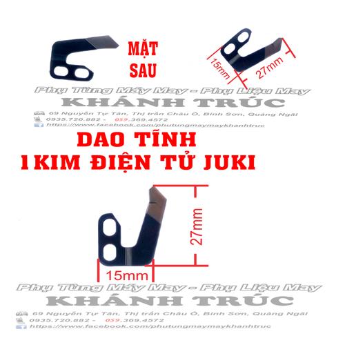 Dao TĨNH 1kim điện tử Juki máy may công nghiệp