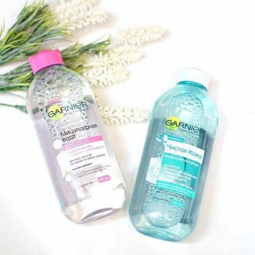 Nước tẩy trang Garnier xanh cho mọi loại da