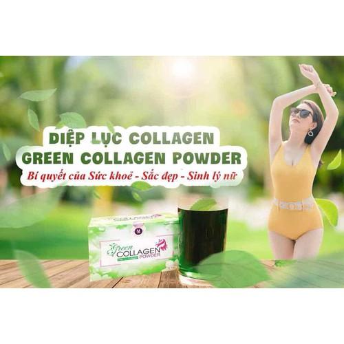 Diệp lục Collagen – Bổ xung dưỡng chất, thải độc, đẹp da.