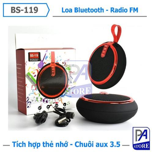[Hot] Loa Bluetooth Mini Phong Cách, Âm Thanh Siêu Chuẩn, BS-119