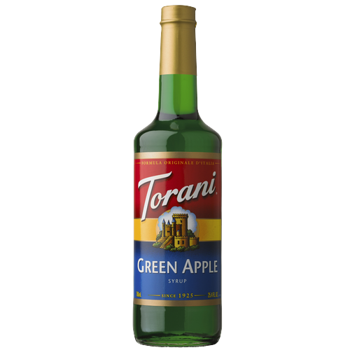 SIRÔ TÁO XANH - GREEN APPLE SYRUP TORANI 750ML