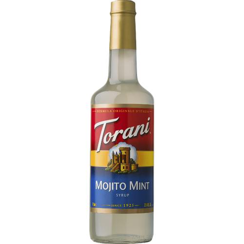 SIRÔ MOJITO MINT - MOJITO MINT SYRUP TORANI 750ML