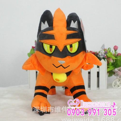 Gấu bông pokemon go mèo Litten 30cm tặng túi quà - 8999661 , 18652698 , 15_18652698 , 219000 , Gau-bong-pokemon-go-meo-Litten-30cm-tang-tui-qua-15_18652698 , sendo.vn , Gấu bông pokemon go mèo Litten 30cm tặng túi quà