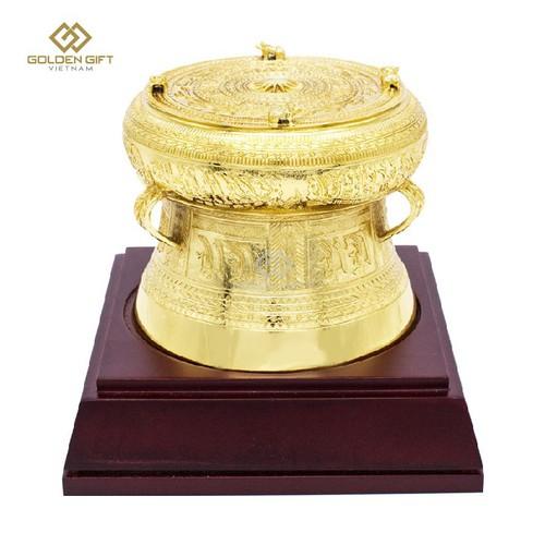 Mô hình Trống đồng mạ-vàng F15 - Golden Gift Việt Nam