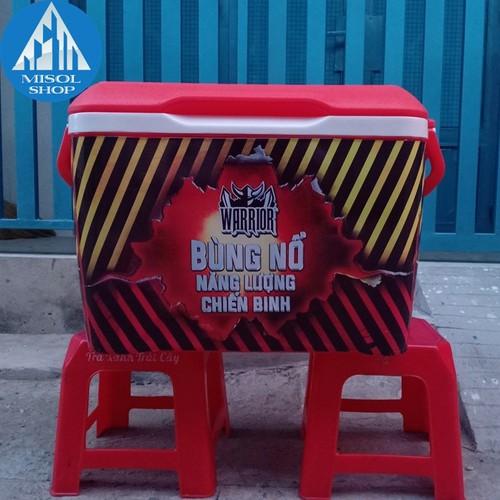 thùng nhựa đá 45l [ Đại Hạ Giá] Free Ship Nội thành tphcm
