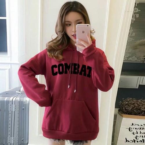 Áo hoodie nữ đơn giản