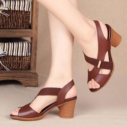 Giày nữ đan dây hot