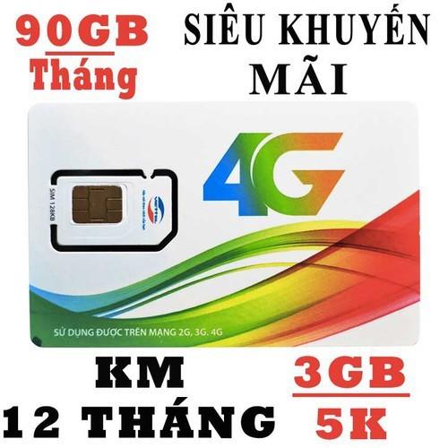 sim 4G viettel - sim 4G - 90GB - sim mt5c - sim 3g - sim 4G viettel giá siêu rẻ