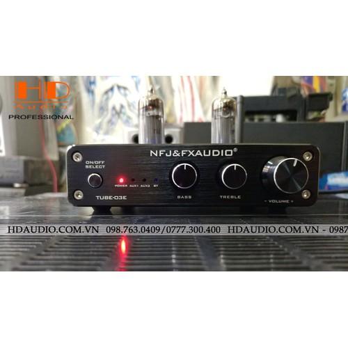 FX-AUDIO TUBE-03E Bluetooth 4.2, Tube Preamplifier Bóng 6K4 x 2