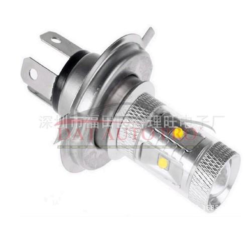 Đèn LED Ánh sáng trắng H4 30W CREE Công suất cao cho Đèn pha xe máy...chỉ có pha