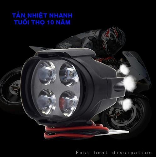 Đèn pha led trợ sáng L4 CYT gắn xe máy