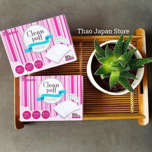 Bông Tẩy Trang Clear Puff - 8999900 , 18652983 , 15_18652983 , 60000 , Bong-Tay-Trang-Clear-Puff-15_18652983 , sendo.vn , Bông Tẩy Trang Clear Puff