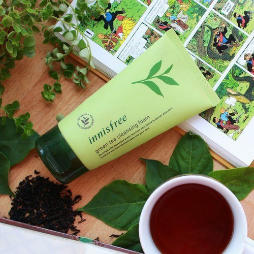 Sữa Rửa Mặt Trà Xanh Innisfree Green Tea Morning Cleanser - 7645011 , 18644211 , 15_18644211 , 260000 , Sua-Rua-Mat-Tra-Xanh-Innisfree-Green-Tea-Morning-Cleanser-15_18644211 , sendo.vn , Sữa Rửa Mặt Trà Xanh Innisfree Green Tea Morning Cleanser