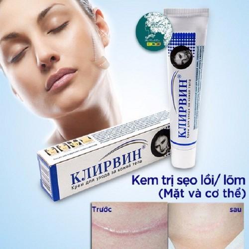 [CHÍNH HÃNG] Kem trị sẹo, trị thâm đa năng Klirvin