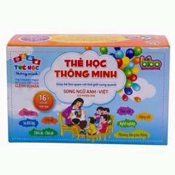 Bộ 416 thẻ học thông minh song ngữ Anh-Việt cho bé yêu