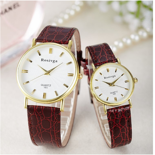 Đồng Hồ da thời trang Rosivga - DH0063 thumbnail