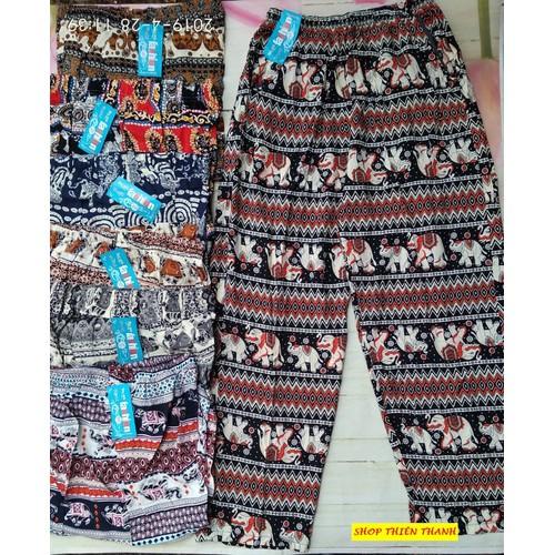 Quần ống rộng culottes nữ vải lanh dáng dài ống suông họa tiết thổ cẩm - 8358235 , 17820389 , 15_17820389 , 100000 , Quan-ong-rong-culottes-nu-vai-lanh-dang-dai-ong-suong-hoa-tiet-tho-cam-15_17820389 , sendo.vn , Quần ống rộng culottes nữ vải lanh dáng dài ống suông họa tiết thổ cẩm
