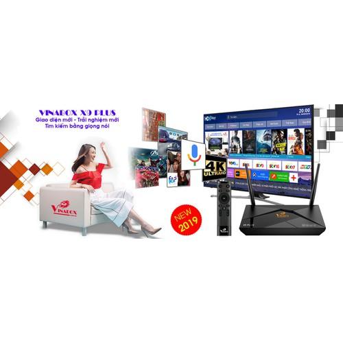 ĐẦU THU ANDROID TIVI BOX VINABOX X9 PLUS - RAM 2G CHIP AMLOGIC S905W X9PLUS