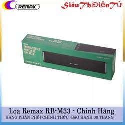 LOA BLUETOOTH REMAX RB M33 KẾT NỐI KHÔNG DÂY