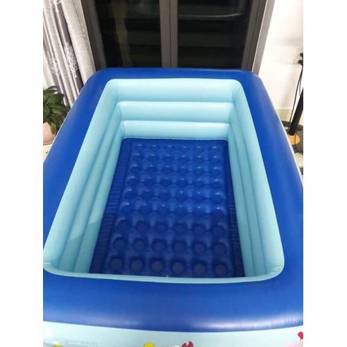 Bể bơi cao cấp cho bé 3 tầng 150x50cm