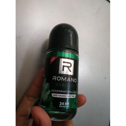 Lăn khử mùi Romano Classic 50ml - 11610531 , 17822074 , 15_17822074 , 62000 , Lan-khu-mui-Romano-Classic-50ml-15_17822074 , sendo.vn , Lăn khử mùi Romano Classic 50ml