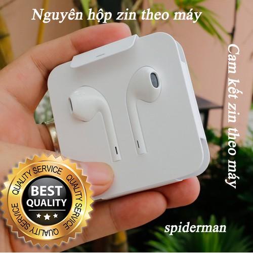 Tai nghe zin máy iPhone 7, iPhone 7 Plus, iPhone 8, iPhone 8 Plus, iPhone X, iPhone XS, iPhone XS Max Nguyên hộp cổng Lightning Apple EarPods - Full Box Cam kết theo máy - 7709080 , 17814153 , 15_17814153 , 700000 , Tai-nghe-zin-may-iPhone-7-iPhone-7-Plus-iPhone-8-iPhone-8-Plus-iPhone-X-iPhone-XS-iPhone-XS-Max-Nguyen-hop-cong-Lightning-Apple-EarPods-Full-Box-Cam-ket-theo-may-15_17814153 , sendo.vn , Tai nghe zin máy iP