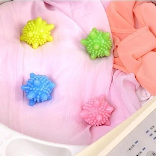 Set 10 quả cầu gai dùng cho máy giặt