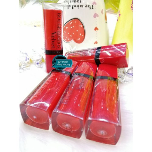 Son Kem Lì Bourjous Rouge Edition velvet  18 - reding men