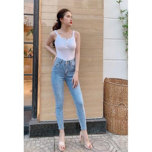 Quần jeans dài thời trang