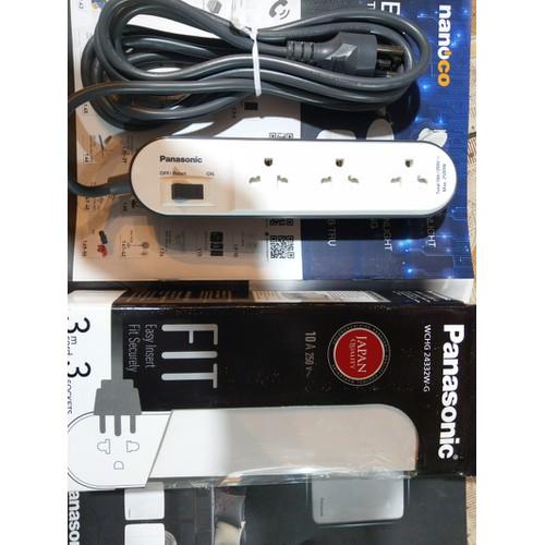 Ổ cắm có dây Panasonic- Made in Thailand