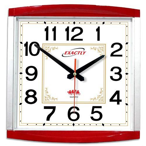 Đồng hồ treo tường Exactly U130 Đỏ - 4744667 , 17825198 , 15_17825198 , 177000 , Dong-ho-treo-tuong-Exactly-U130-Do-15_17825198 , sendo.vn , Đồng hồ treo tường Exactly U130 Đỏ