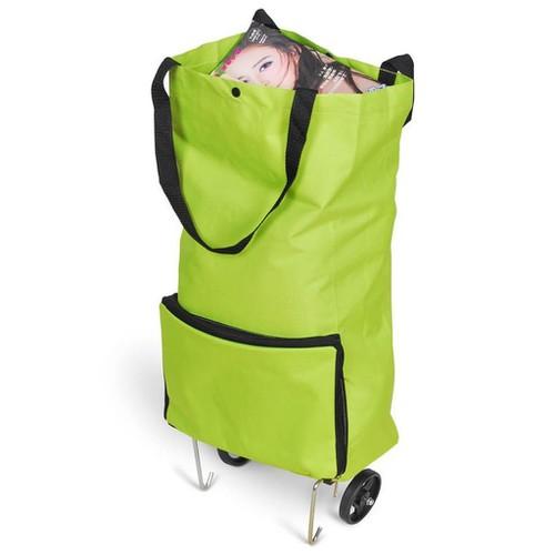 Túi kéo đi chợ có bánh xe giúp di chuyển đồ đạc dễ dàng