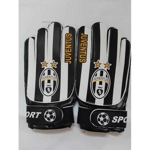 Găng tay thủ môn trẻ em cao cấp bắt siêu dính bóng CLB Juventus