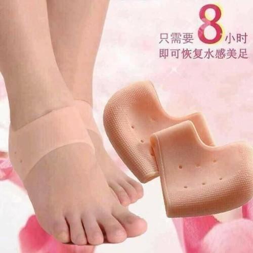 lót gót chân silicon