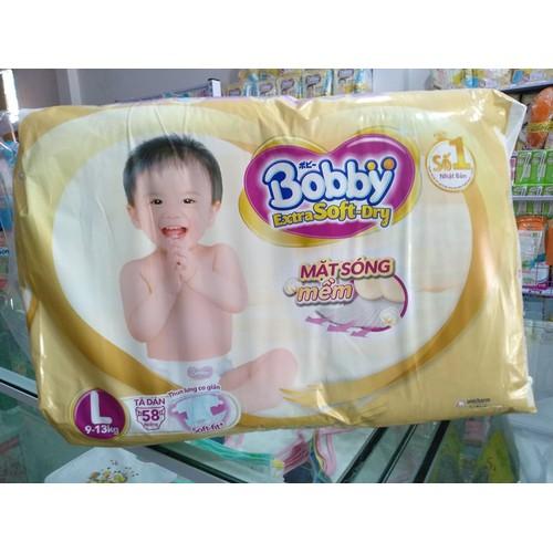 Tả dán Bobby siêu mềm size L58 cho bé  9 - 13kg - 8346924 , 17816165 , 15_17816165 , 255000 , Ta-dan-Bobby-sieu-mem-size-L58-cho-be-9-13kg-15_17816165 , sendo.vn , Tả dán Bobby siêu mềm size L58 cho bé  9 - 13kg