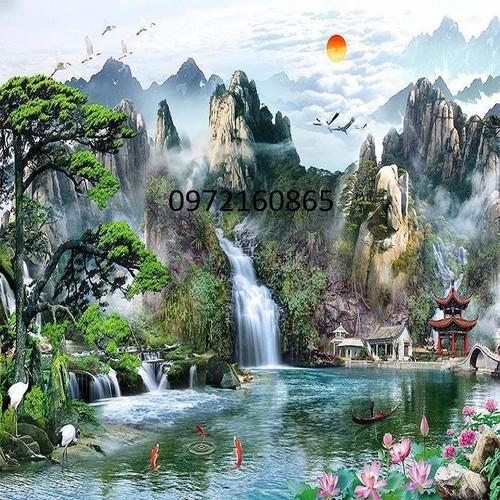 gạch tranh 3d ốp tường thác nước - 11610045 , 17817456 , 15_17817456 , 2600000 , gach-tranh-3d-op-tuong-thac-nuoc-15_17817456 , sendo.vn , gạch tranh 3d ốp tường thác nước