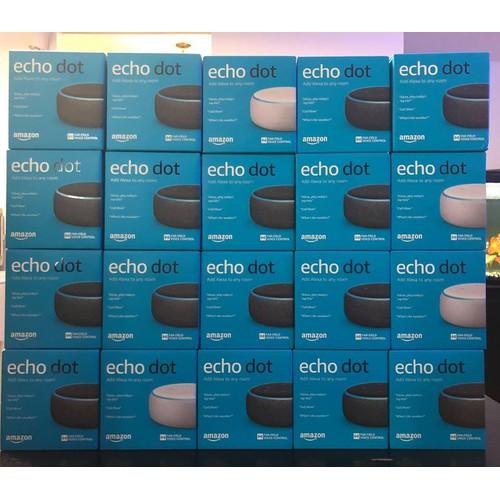 Loa thông minh Amazon Echo dot 3 nguyên Seal - Chuẩn Mỹ - 7608994 , 17818469 , 15_17818469 , 899000 , Loa-thong-minh-Amazon-Echo-dot-3-nguyen-Seal-Chuan-My-15_17818469 , sendo.vn , Loa thông minh Amazon Echo dot 3 nguyên Seal - Chuẩn Mỹ