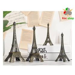 Combo 4 Mô hình tháp Eiffel để bàn trang trí - Cao 8-15 cm